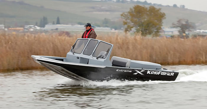 KingFisher Welded Aluminum Jet Boats For Sale