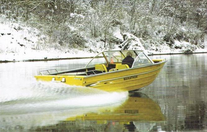 Marathon Marine Jet Boat Builder in Edmonton Alberta.