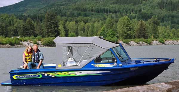 Neid Enterprises Ltd. Custom Welded Aluminum Jet Boats.