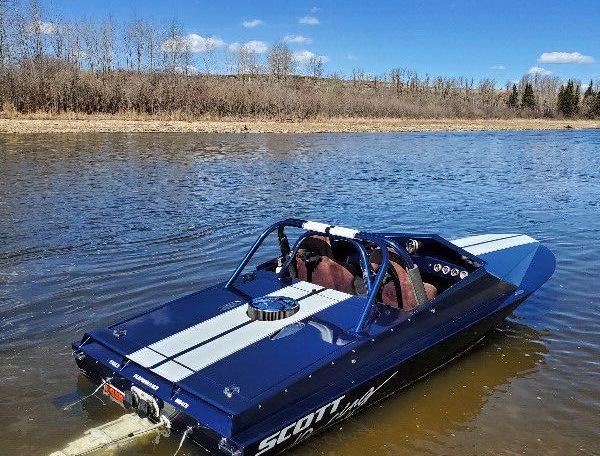 Eagle 16 Sprint Boat Scott Jet