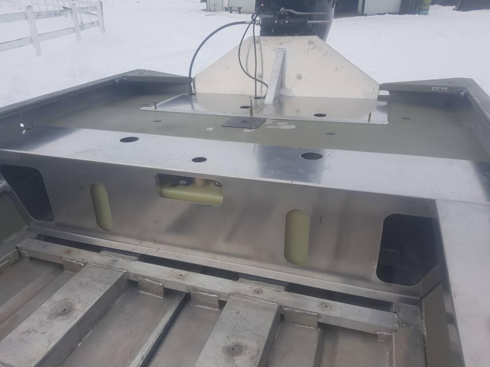 Iron Aero Marine Custom Aluminum Boat Modifications Calgary